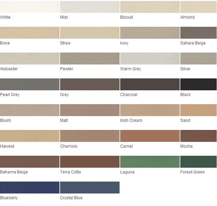 Grout rejuvenator color charts grout stain tile grout