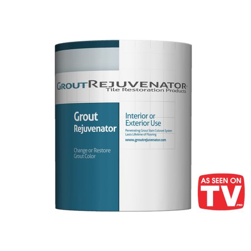 Grout Rejuvenator Grout stain with As Seen On TV Logo